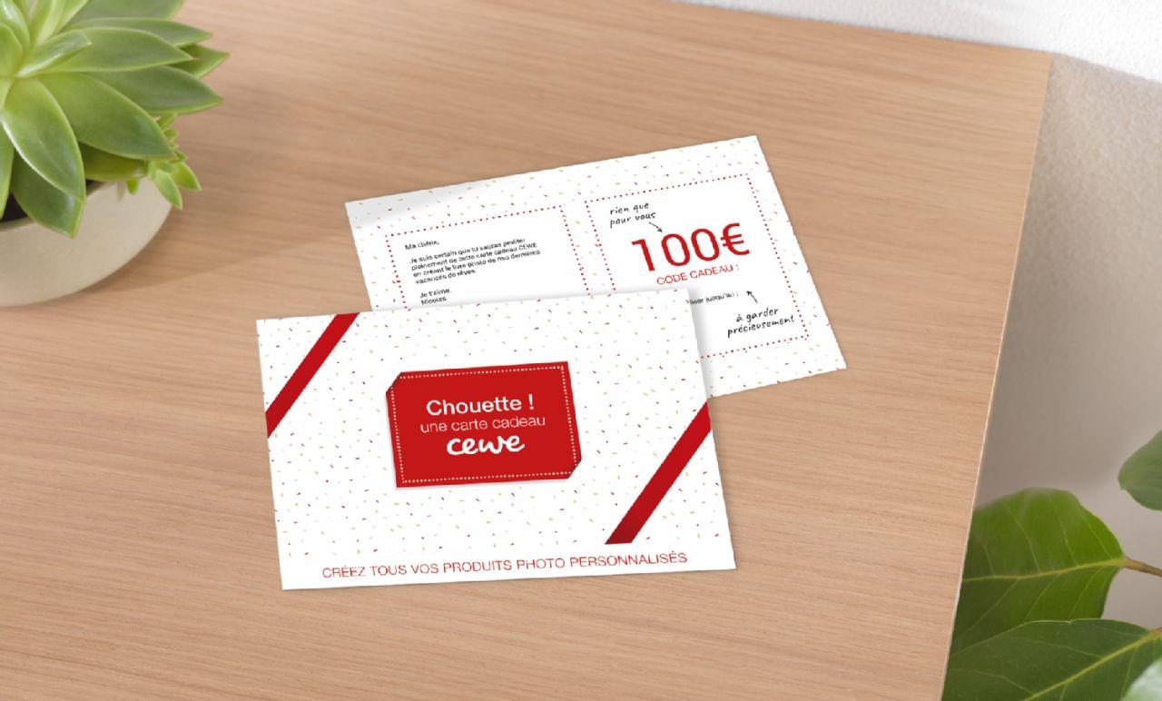 Carte Cadeau Photo Personnalise A Imprimer Cewe